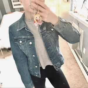Gap stretch jean jacket